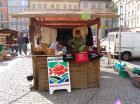 Dni Karpia promujące Dolinę Baryczy zorganizowano również na wrocławskim Rynku.